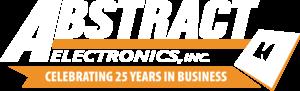 25 Year Logo - White